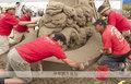 高清:美国沙雕赛 小沙粒打造出的震撼艺术