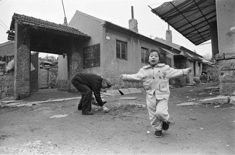 纪录类+关注现实典藏作品+青岛变迁(组1)+吴正中+1993年,北仲家洼永茂里。