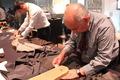 高清:Zegna工作室开启 手工制作男士西装