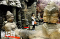 高清:柬埔寨馆 世博园里的吴哥窟