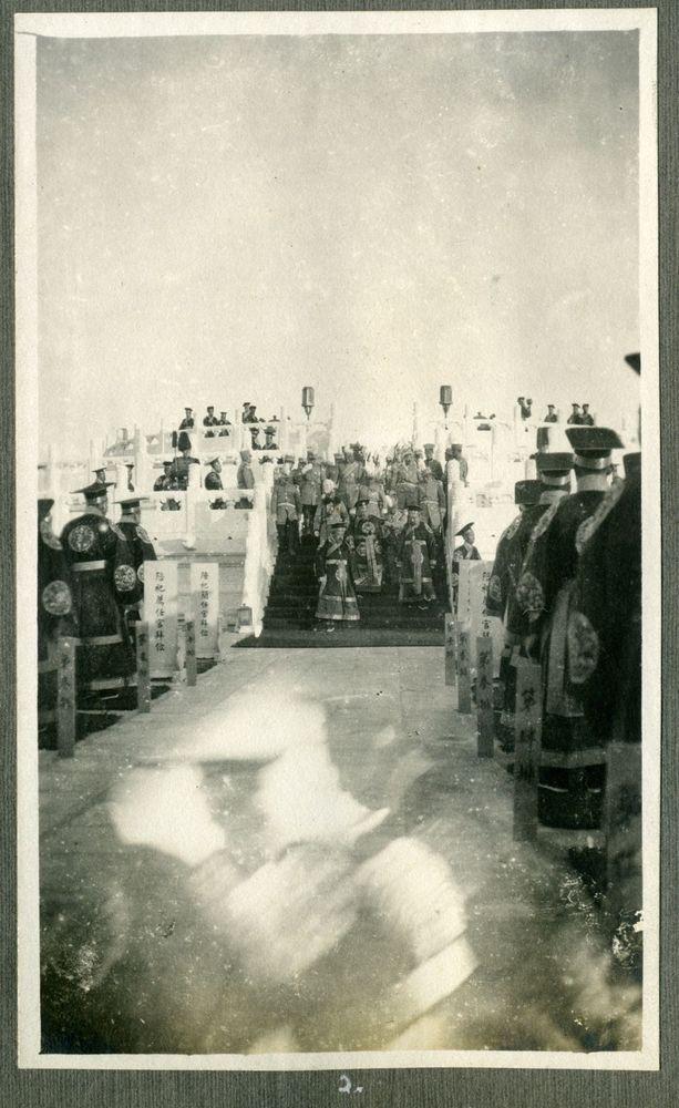 珍贵影像:实拍1913年袁世凯的天坛祭天大典 - 留阳旭日 - 留阳旭日的博客