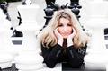 组图:国际象棋女选手美貌惊全球