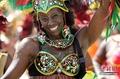 高清:美国迈阿密举行盛大狂欢节