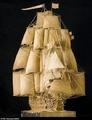 组图:17年打造历史名舰 400年木材取自原舰