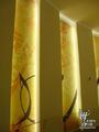 组图:沙特女艺术家用诗句装点展馆艺术走廊
