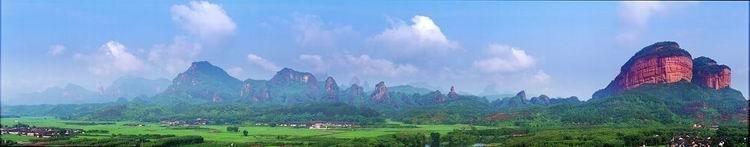 广东丹霞山 转机长片(宋举浦摄)