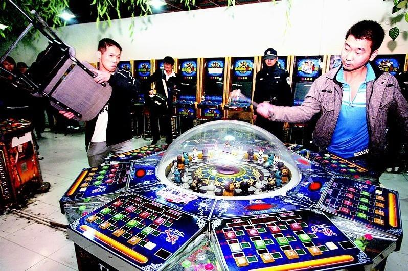 西安开展 秋风 行动 将重拳打击游戏机赌博_腾
