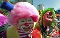 """高清:全球""""小丑""""云集墨西哥 举行公约大会"""