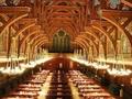 组图:无比奢华——金碧辉煌的哈佛食堂