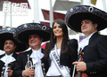 高清:环球小姐助阵墨西哥馆 欢迎四方游客