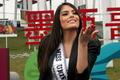 高清:环球小姐携手墨西哥小姐助阵风筝森林