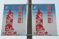 高清:园区新标志贺世博成功 导览图数量紧缺