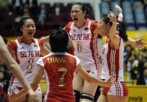 中国女排3-1力克日本 王一梅轰25分复赛首胜