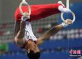 体操男子团体日本领先