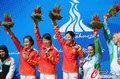 中国获气步枪团体冠军