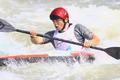 高清:广州亚运会皮划艇激流回旋预赛赛况
