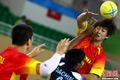 高清:中国男子手球队轻取印度