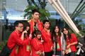 中国男篮抵达广州