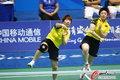 中国羽球女团胜韩国