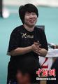 韩怀孕8月女子夺冠
