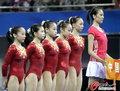 高清:体操女团十连冠神话成真 空中掠影美妙