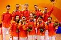 """高清:广州亚运中国体育舞蹈成就""""大满贯"""""""