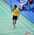 高清:羽毛球男团决赛 林丹首发出战
