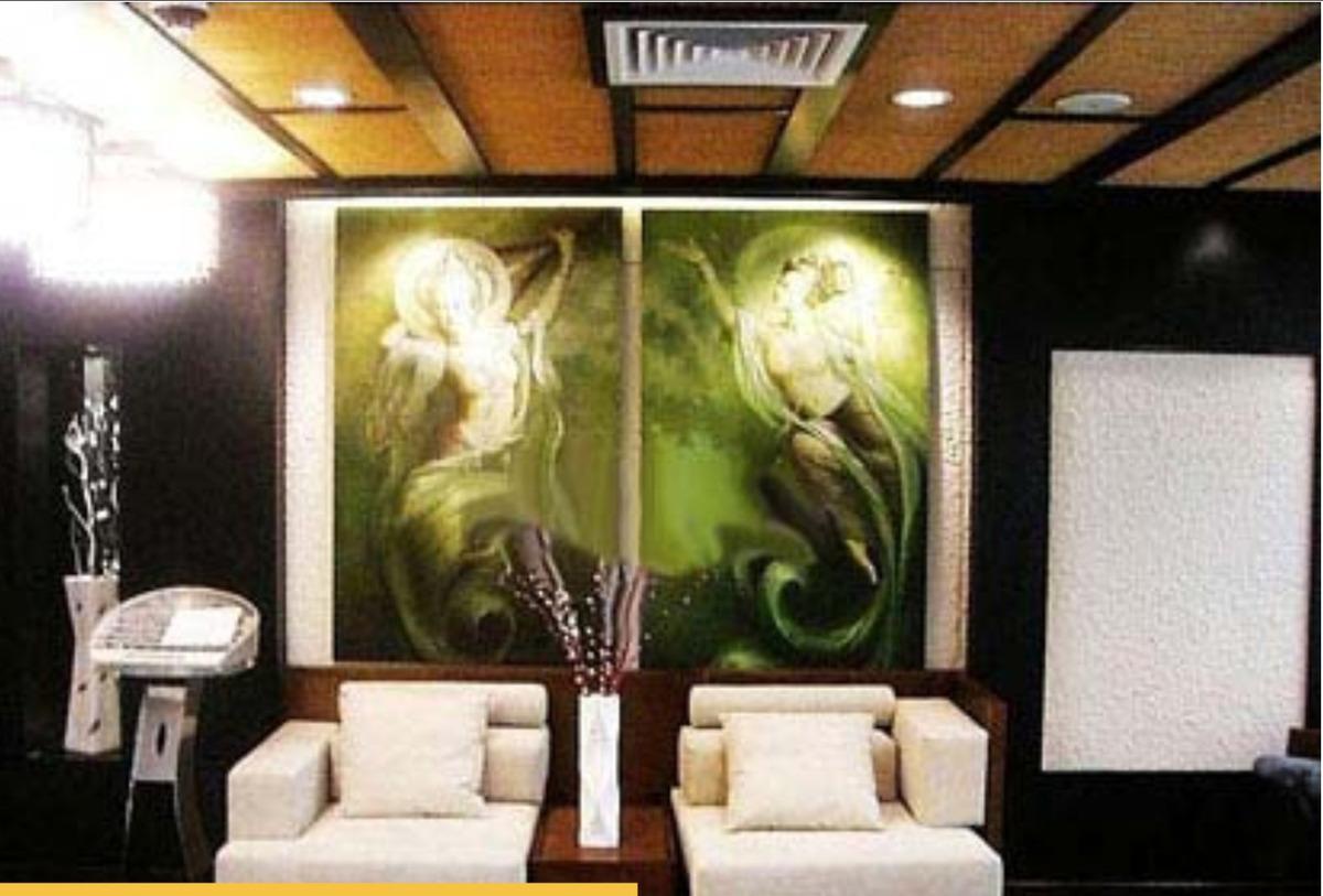 国外手绘墙图片