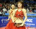 乒球决赛啦啦队热舞