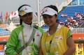 亚运赛场美女志愿者