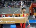 高清:亚运体操男子鞍马 滕海滨夺冠
