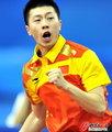 高清:中国男乒胜韩国 马龙男二号出场制敌
