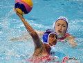 高清:女子水球 乌兹别克斯坦20:2印度夺铜