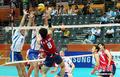 高清:亚运男排卫冕冠军韩国队晋级八强