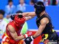 高清:散手70公斤级决赛 张勇击败蔡良蝉夺冠