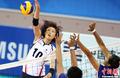 高清:女排小组赛韩国队3比0轻松战胜泰国队
