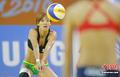 高清:沙滩女排中华台北队2:0胜泰国队