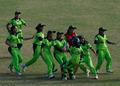 高清:巴基斯坦队女子板球夺冠 赢亚运首金