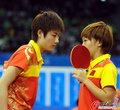 高清:乒球女双决赛 中国小花拉开内战序幕