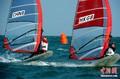 高清:亚运帆船帆板赛 健儿海上搏击动感十足