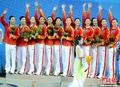 中国夺花游组合赛冠军