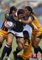 高清:橄榄球泰国女队战胜中国香港女队