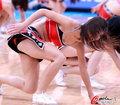 篮球宝贝性感短裙热舞