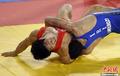 伊朗选手摔跤66KG夺冠
