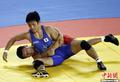 高清:男子古典式摔跤55公斤日本选手夺冠