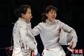 高清:女子佩剑团体决赛 谭雪带领中国队夺冠