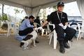 高清:建国60周年安保搜爆犬为航展保驾护航