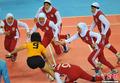 高清:卡巴迪中华台北女队不敌伊朗