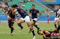 高清:女子橄榄球 中国战胜中国香港