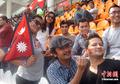 尼泊尔板球奔放啦啦队